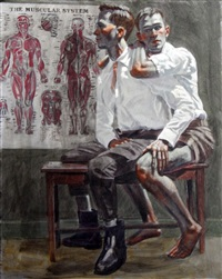 [bruce sargeant (1898-1938)] the muscular system by mark beard